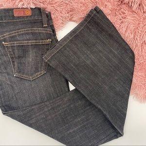 AG Adriano Goldschmied legend dark wash jeans